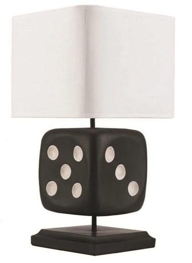Reçine Zar Masa Lambası-Warm Design